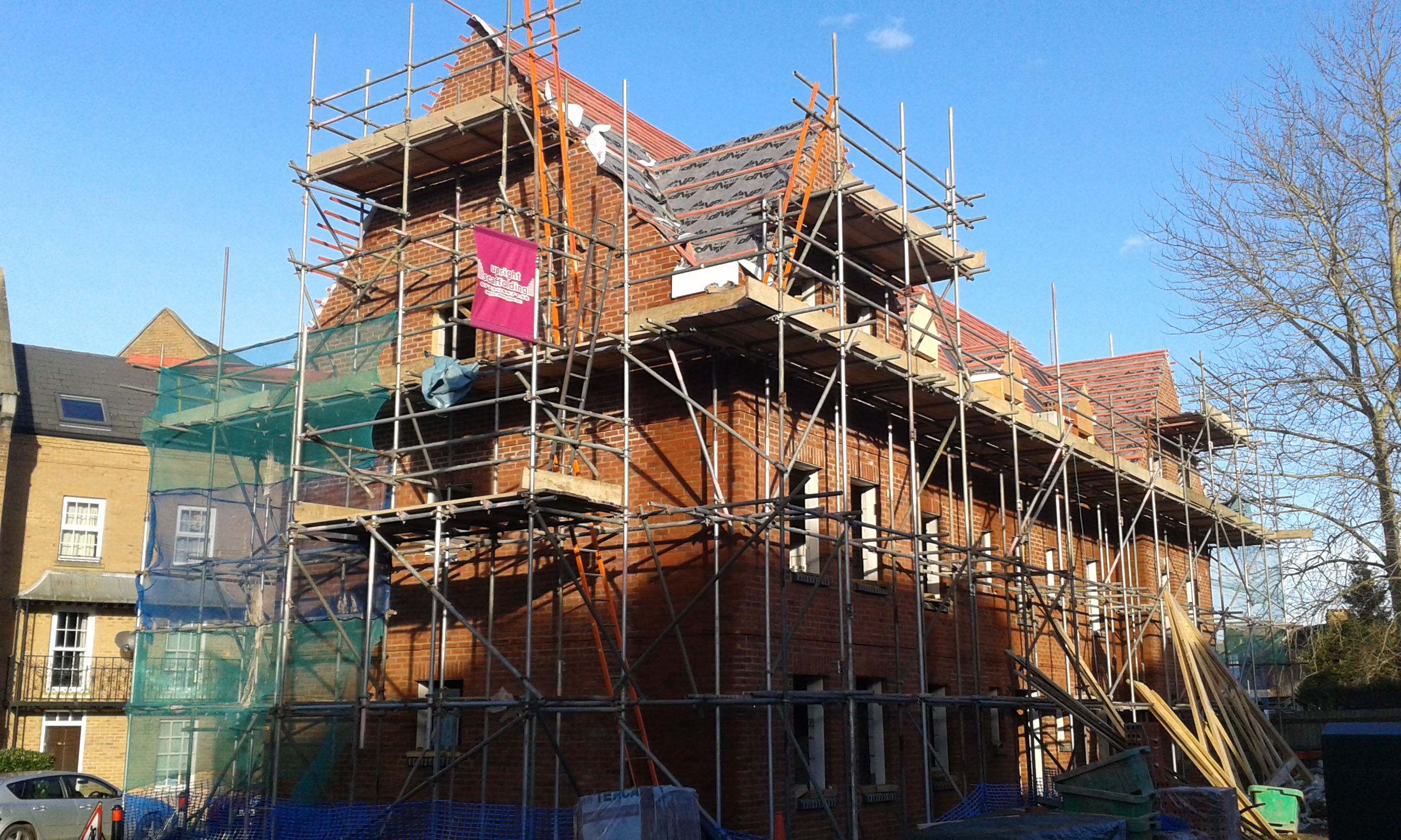 Scaffolding Hire & Sales Scaffolding Erection covering Oxfordshire Gloucestershire Buckinghamshire Warwickshire
